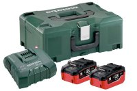 Базовый комплект Metabo 18 В LiHD 2х3,5Ач + ЗУ ASC ULTRA AIR COOLED + Metaloc  685102000
